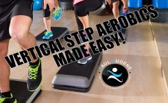 Vertical Step Aerobics