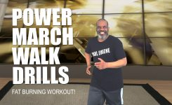 Power March Walk Drills